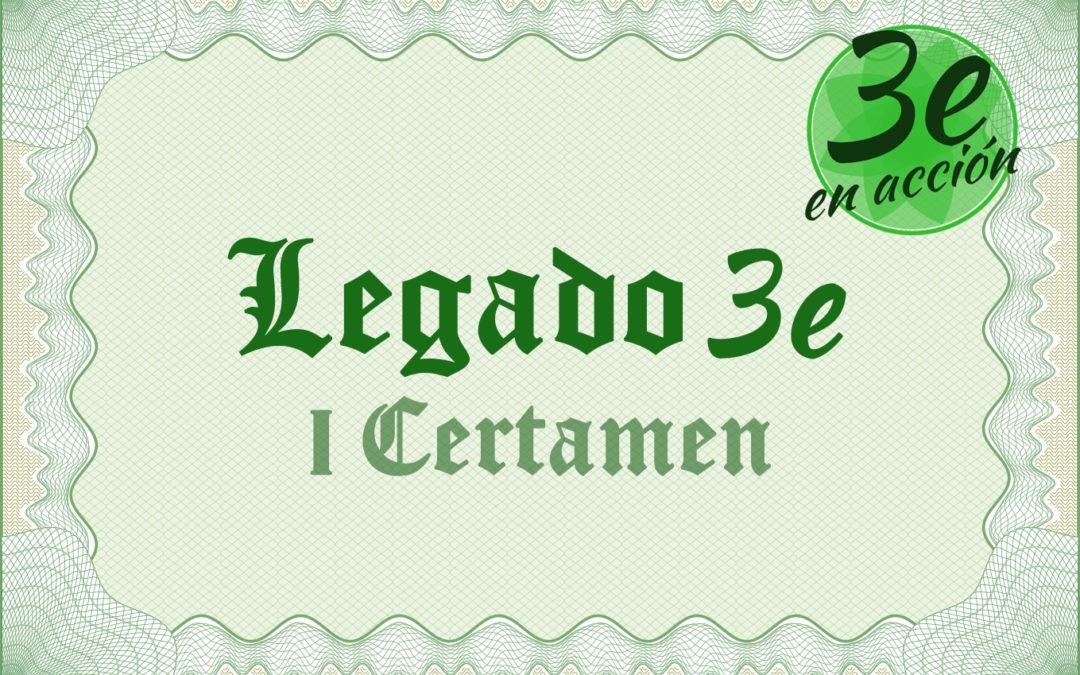 Legado 3e – I Certamen