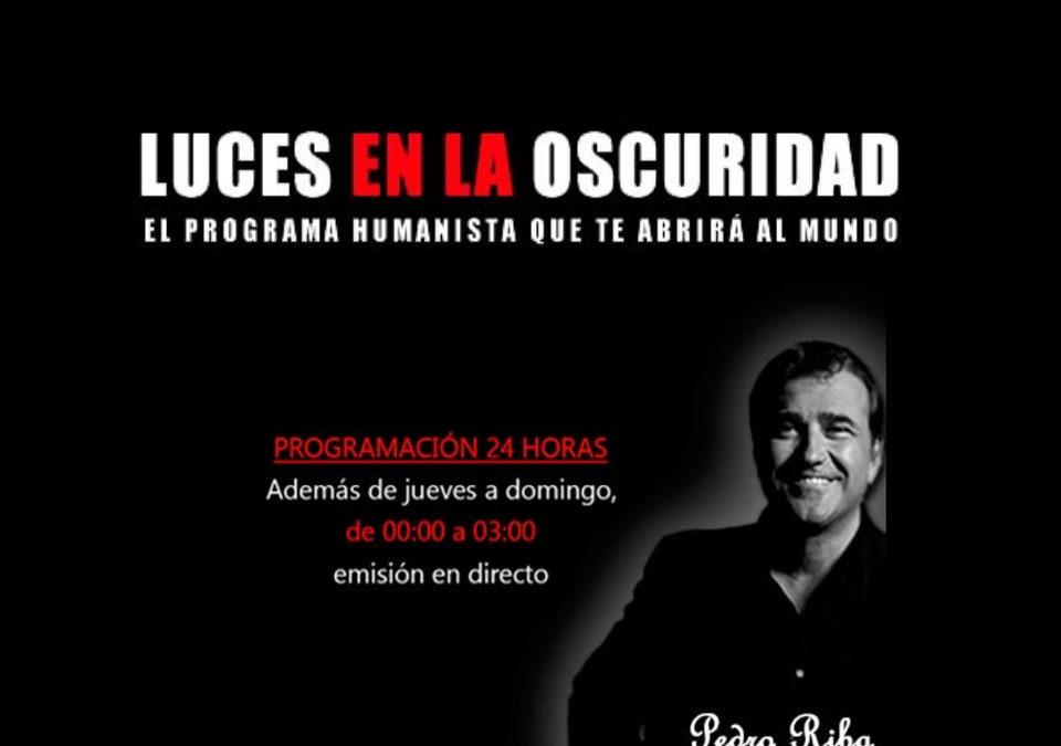 Entrevista de Pedro Riba a la presidenta de 3 edad en Acción Nuria Martínez Ros. (LUCES EN LA OSCURIDAD. Radio4G)