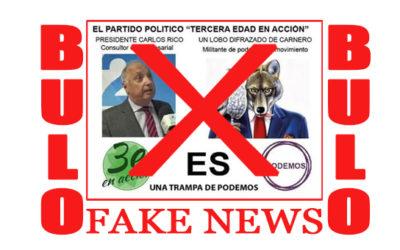STOP BULOS / FAKE NEWS