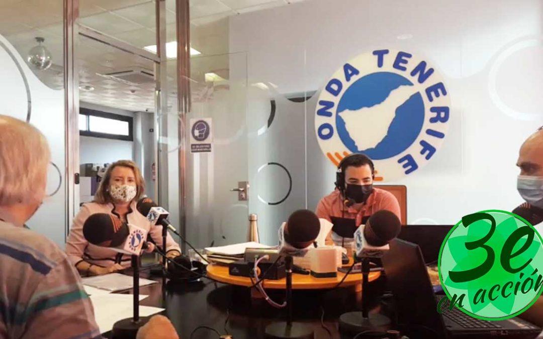 Entrevista a Nuria Martínez Ros, Presidenta de 3Edad en Acción de visita a las islas Canarias