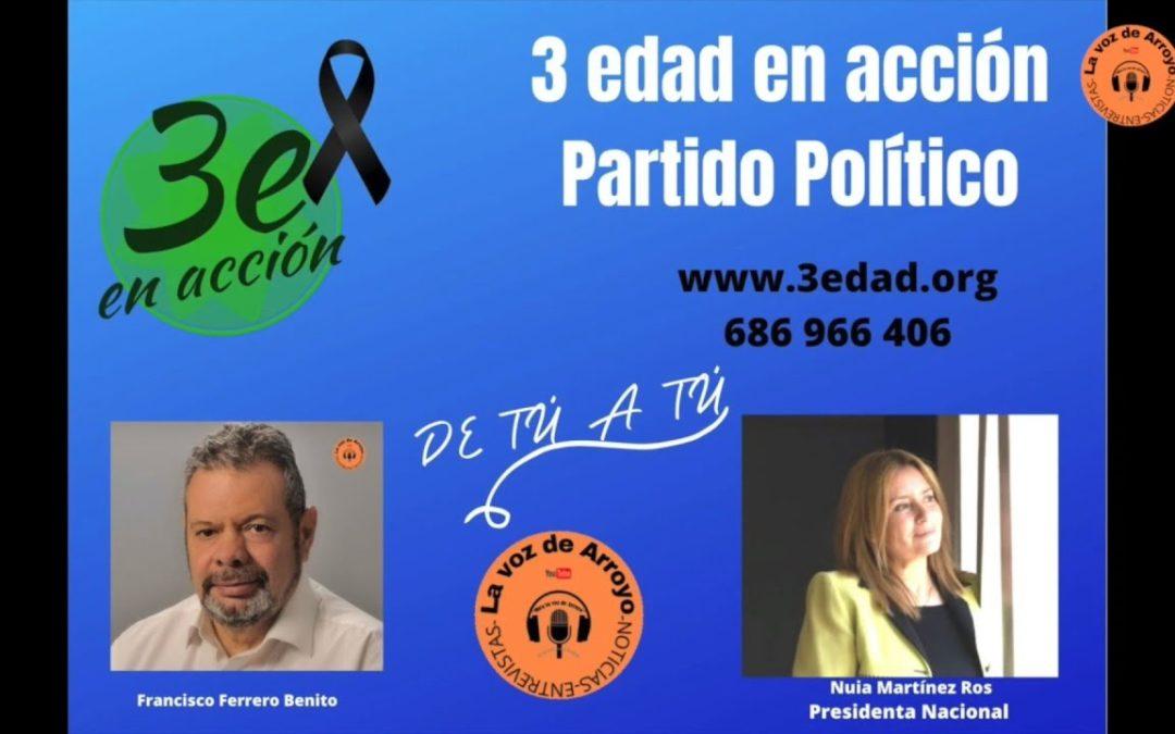 De tú a tú (La Voz de Arroyo) con Francisco Ferrero – Entrevista a Nuria Martínez Ros