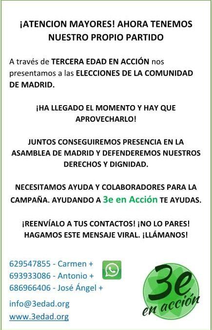 ¡Nos presentamos a las elecciones del 4 de mayo!