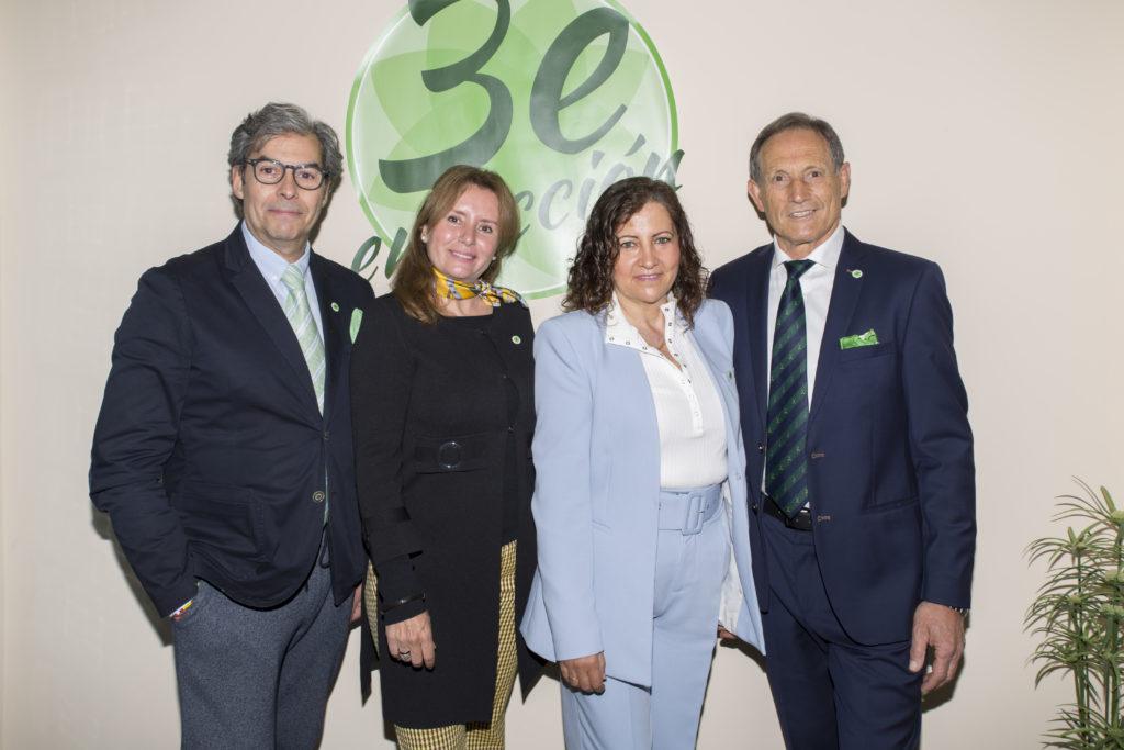 Candidatos a las elecciones de Madrid Tercera Edad en Acción
