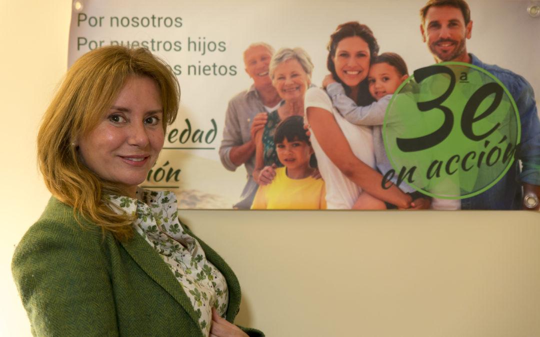 """Periodista Digital – Nuria Martínez Ros (Tercera Edad en Acción): """"Como no paguen las pensiones, los políticos no tendrán calles para salir corriendo"""""""