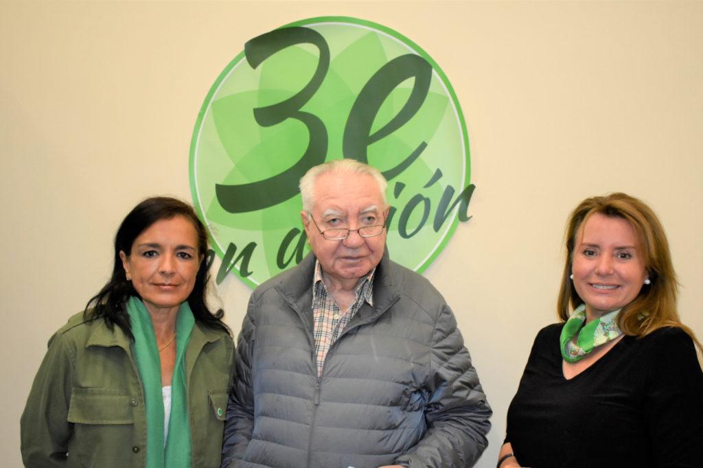 Bernardo Rabassa Tercera Edad en Acción con Soraya y Nuria