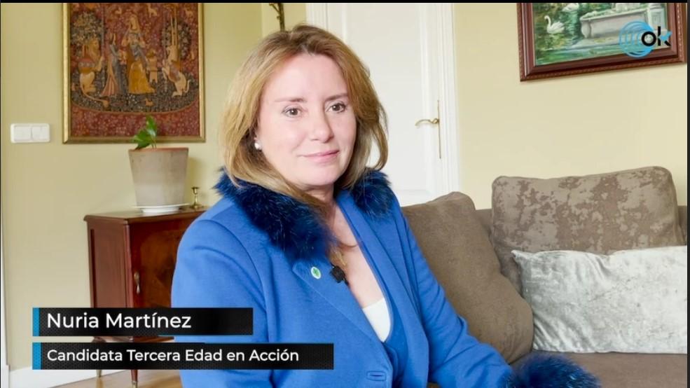Nuria Martínez Ros en Ok Diario