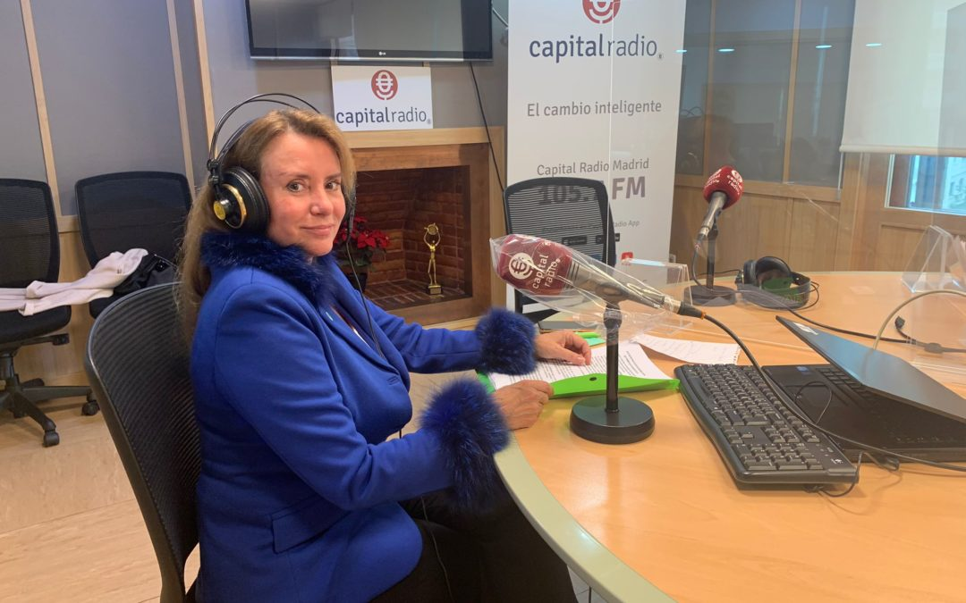 Capital Radio – Entrevista en Ventaja Legal (Arcadio García Montoro)