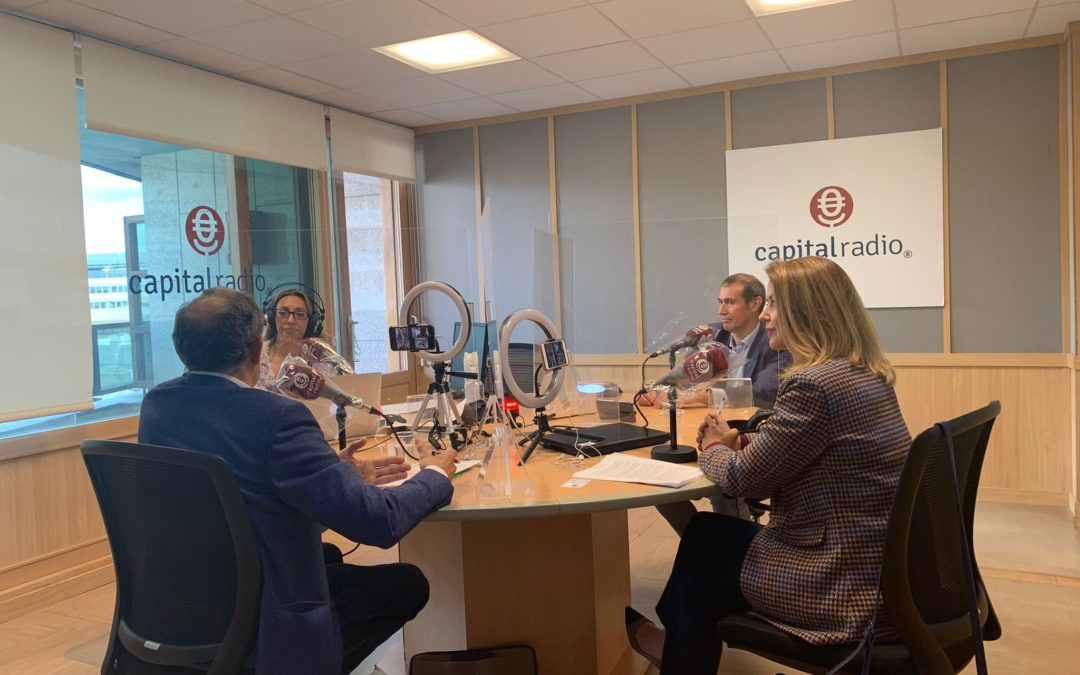 Capital Radio – Entrevista a José Ángel García Redondo en Negocios de carne y hueso