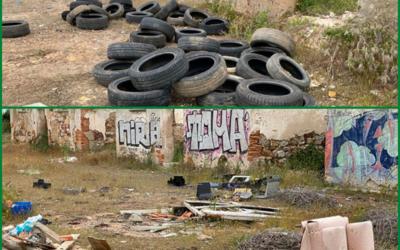 3ª Edad en Acción denuncia el actual estado de abandono de Las Chanas