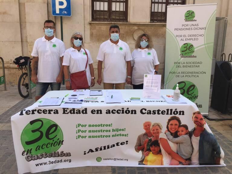 """""""El partido Tercera Edad en Acción aterriza en Castellón en pleno debate sobre el futuro de las pensiones"""", vía Castellón Plaza"""